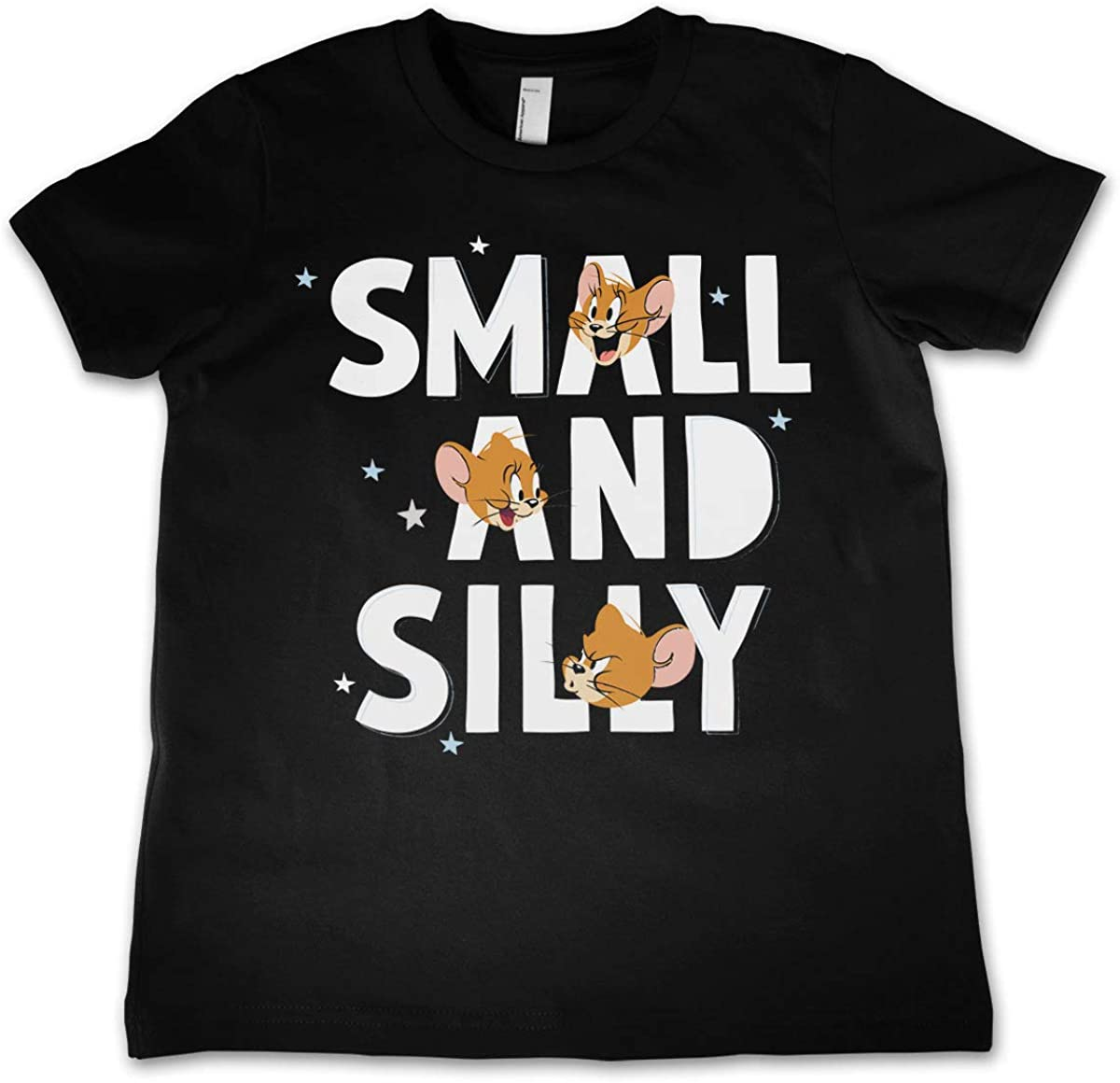 Officially Licensed Jerry - Small and Silly Kids T-Shirt (Black)