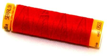 Mettler Seralon Polyester Top Stitch Sewing Thread 30m 30m 503 Cardinal - each