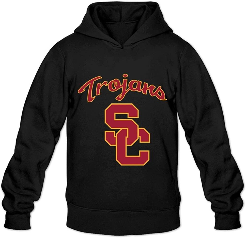 Men's USC Trojans Football Schedules Hoodies Black