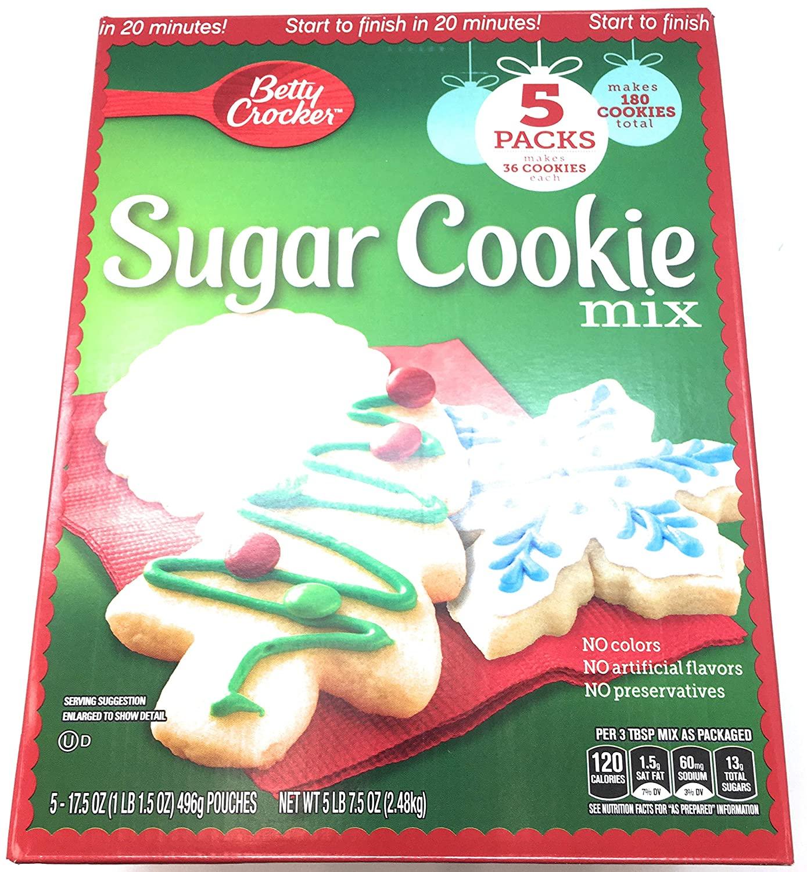Betty Crocker Sugar Cookie Mix 5 Pack Of 17.5 Oz Net Wt 87.5 Oz,, ()