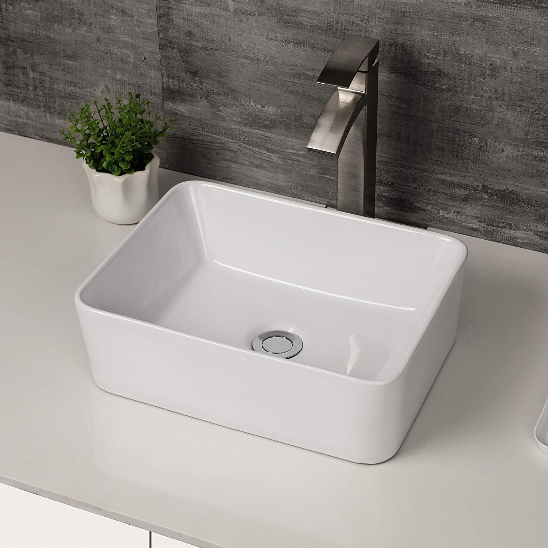 Rectangle Bathroom Sink - Logmey 16