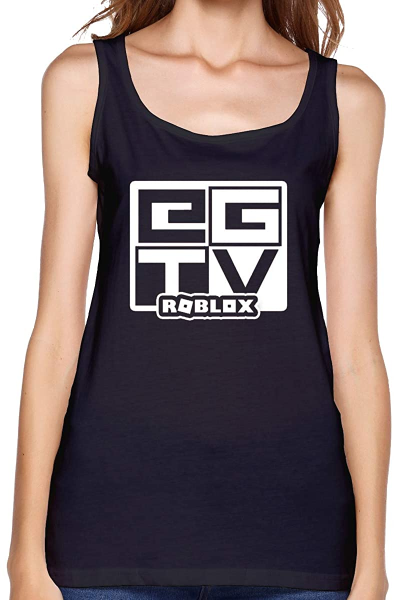 Qq15-kcdds-store EthanGamerTV Woman's Cotton Running Workouts Clothes Yoga Tank Tops Women's Tank Top Shirt