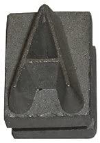 Letter A 1/2-Inch Interchangeable Branding Iron Character BNL-5-A