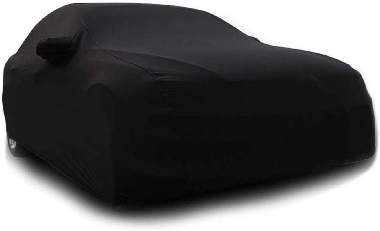 Compatible with Retractable Cloth Cover for BMW 8 Series Coupé, Sun Protection, rain Protection and dust Protection Cover (Color: Black)