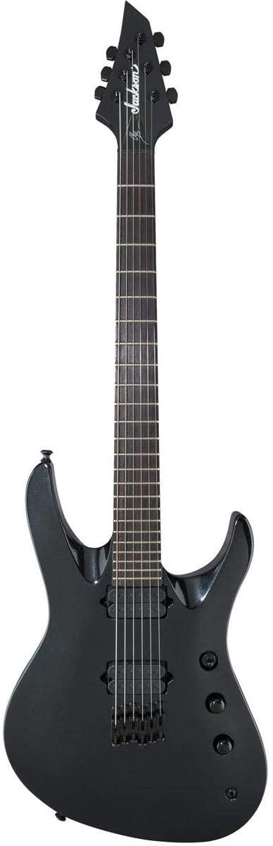 Jackson Pro Series Signature Chris Broderick Soloist HT6 Electric Guitar Electric Guitar (Metallic Black)