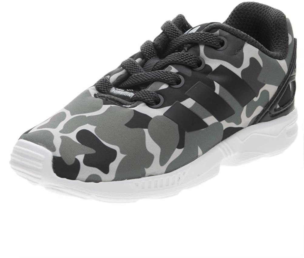 adidas Originals Boys ZX Flux EL I Camo Sneakers Shoes - 6.5K US
