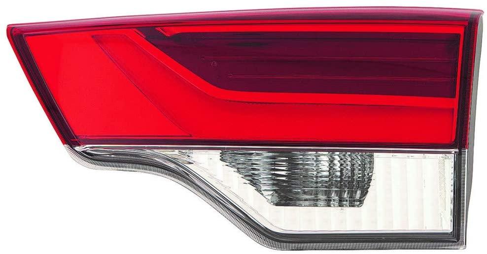For Toyota Highlander Tail Light 2017 2018 2019 Passenger Side Inner Clear Lens CAPA Certified For TO2803139   81580-0E120