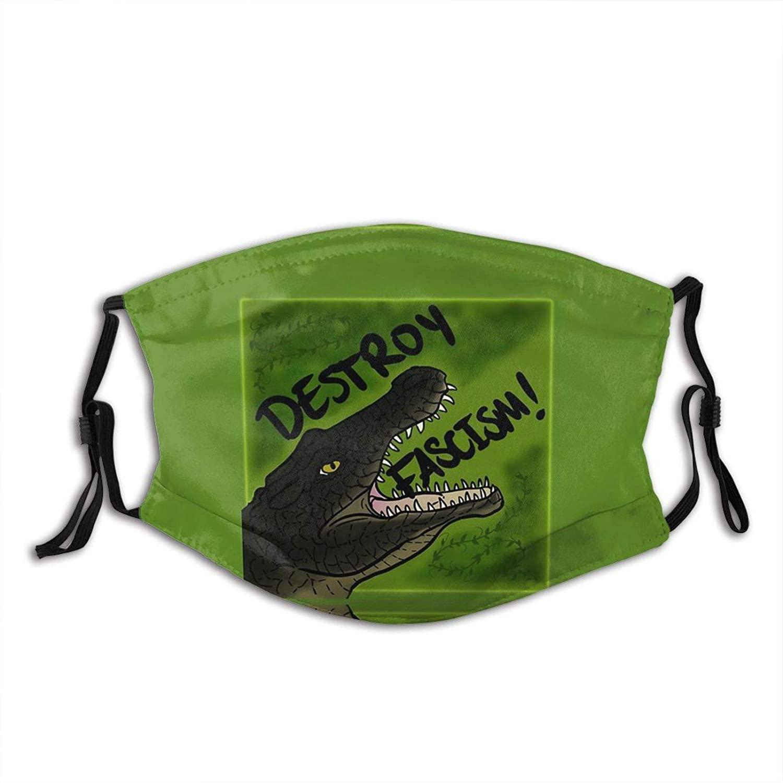 Cool Gators Blue Face Mask Washable & Reusable - Adjustable & Breathable Fliter Fashion Scarf