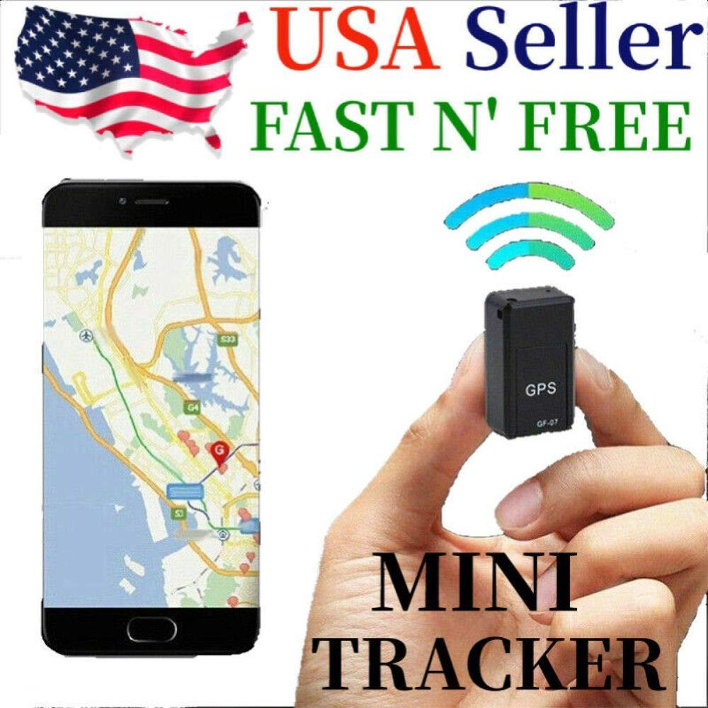 GF07 Mini Magnetic GPS Tracker Real-time Car Truck Vehicle Locator GSM GPRS USA