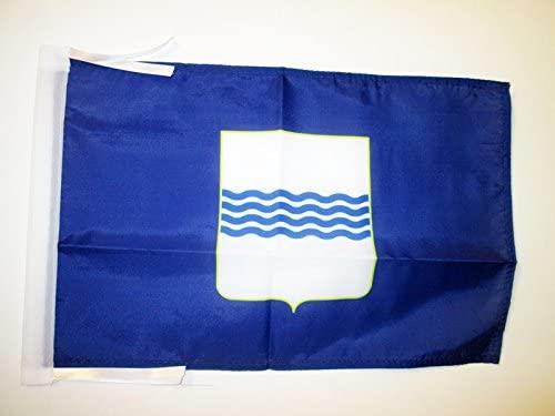 AZ FLAG Basilicata Flag 18'' x 12'' Cords - Italy - Italian Region Small Flags 30 x 45cm - Banner 18x12 in