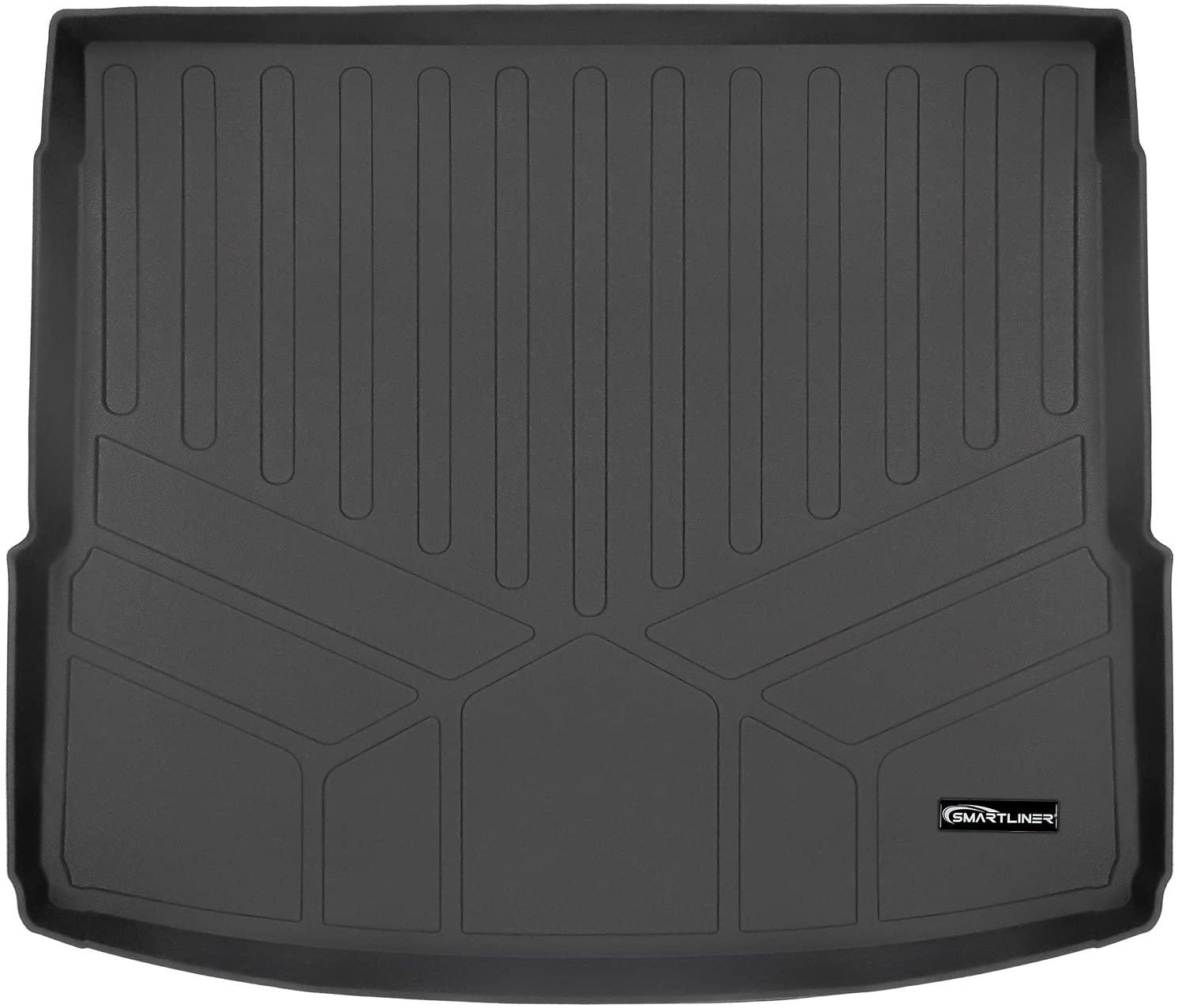 SMARTLINER All Weather Custom Fit Cargo Trunk Liner Floor Mat Black for 2018-2020 Audi Q5 / SQ5