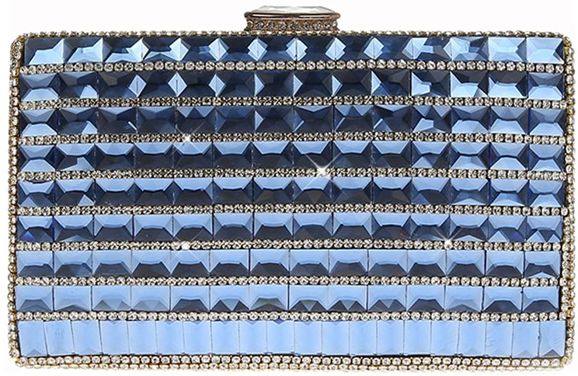 Women Rhinestone Clutch Bag Ankoee Classic Clutch Shoulder Bag Evening Handbag Purse