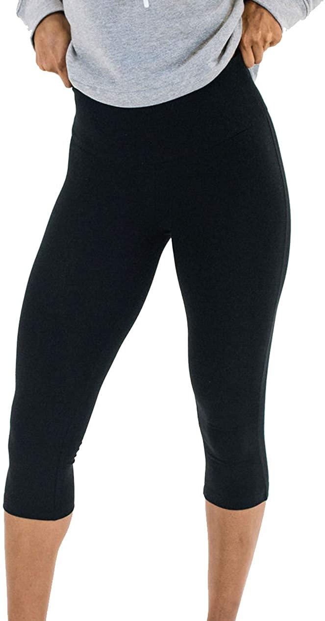 Spalding Women's High Waisted Essential Capri Legging