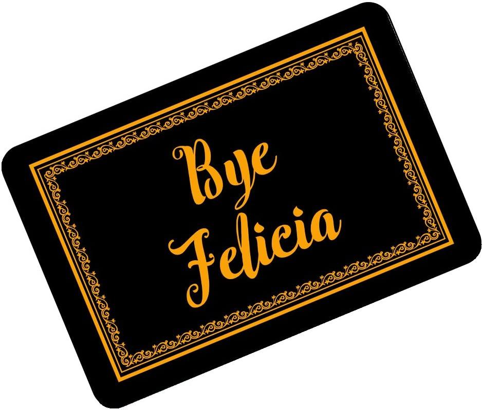 Funny Doormats Bye Felicia Retro Frame Custom Personalized Durable Mat 23.6