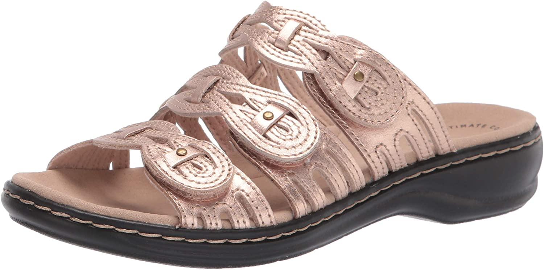 Clarks Women's Leisa Faye Flat Sandal