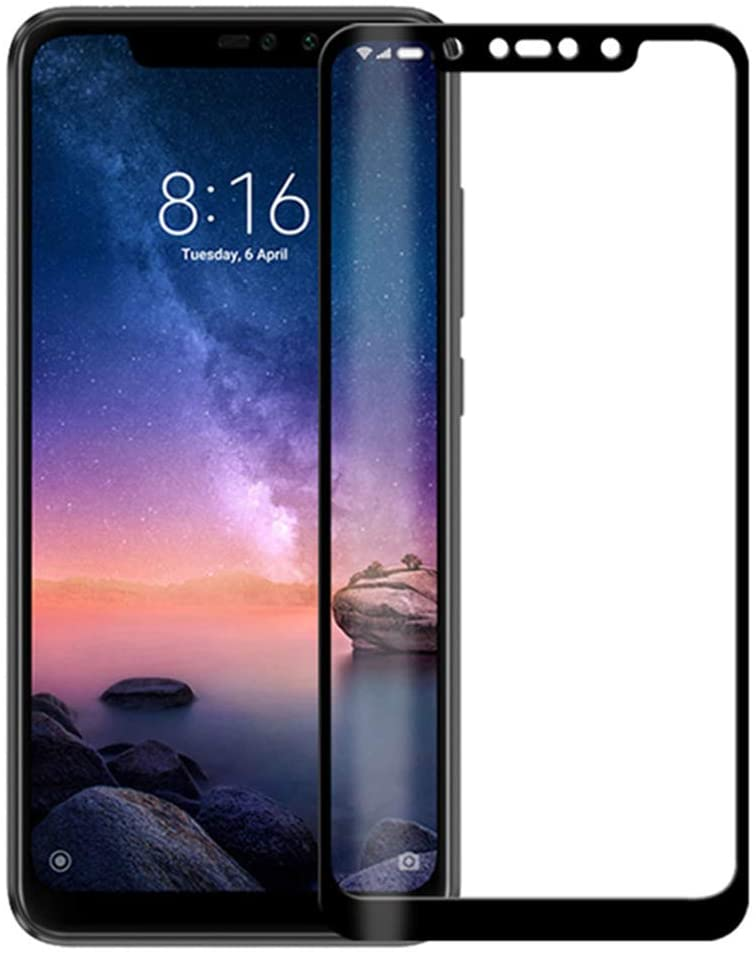Silk Print Screen Tempered Glass Protector for Oppo F1S / Oppo F3 / Oppo F5 / Oppo F7,Screen Protector,9H Hardness Explosion-Proof Anti-Fingerprint High Definition,(2 Pack) (Oppo F7,Black)