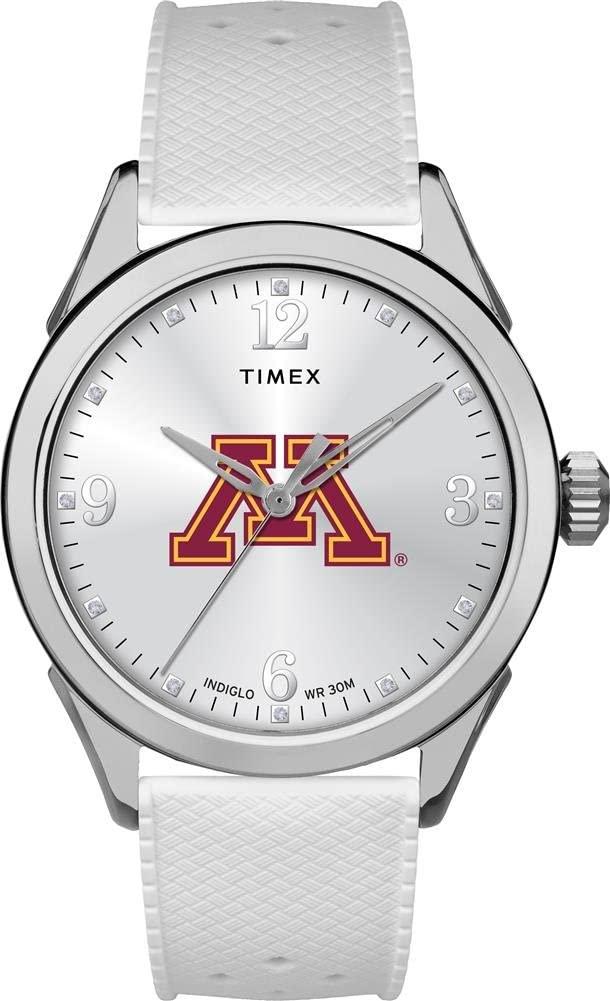 Timex Minnesota Golden Gophers Ladies Silcone Athena Watch