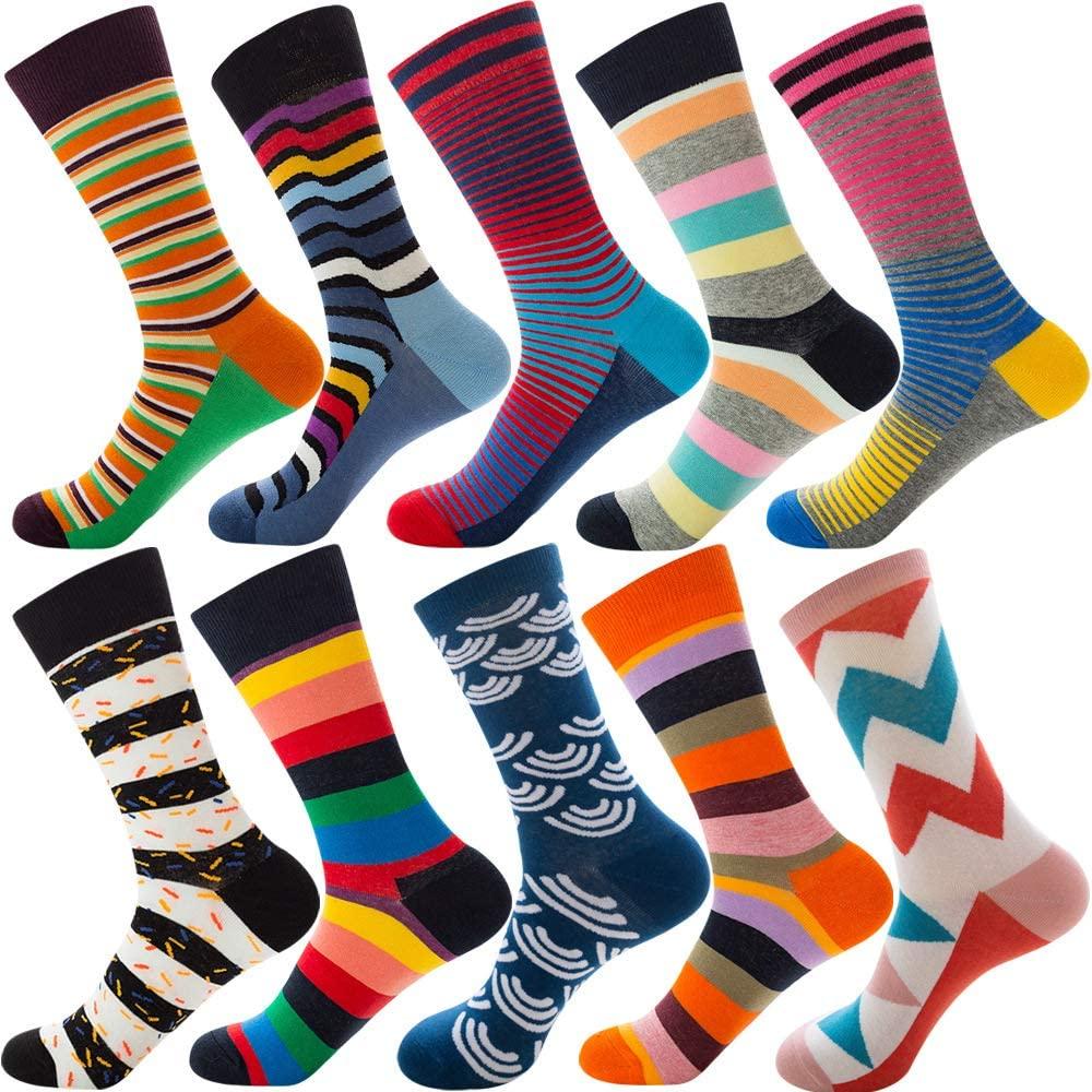 Jeasona Womens Cute Crew Socks Cotton Funny Fun Crazy Novelty Cool Gifts