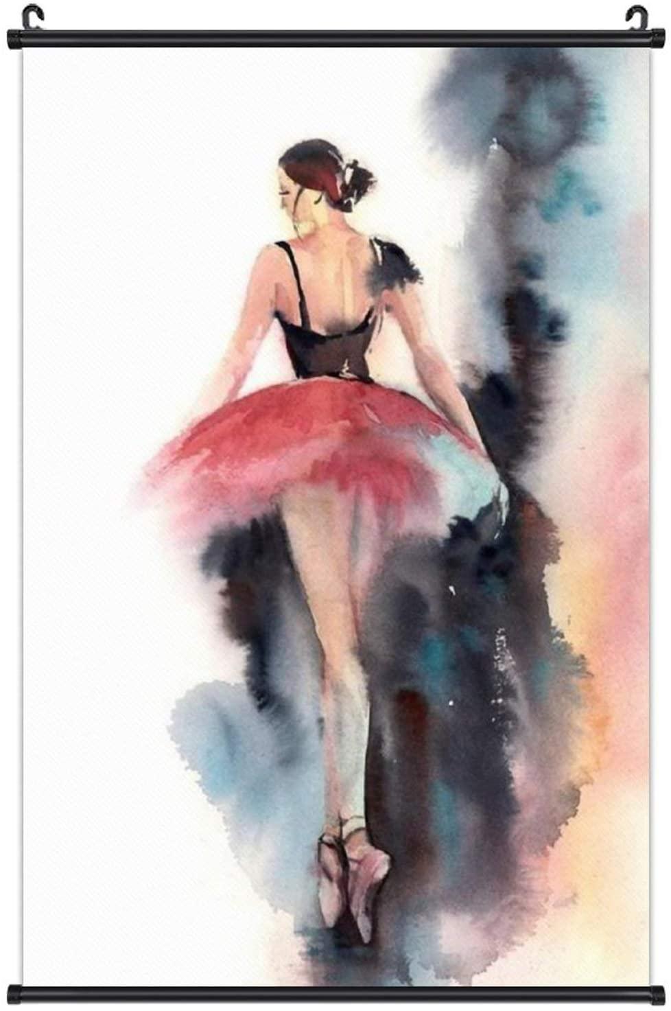 ValueVinylArt Wall Art Canvas Hanging Poster Ballet Dancers Artwork Prints Canvas Home Decor for Living Room Bedroom Kitchen Office 16×24