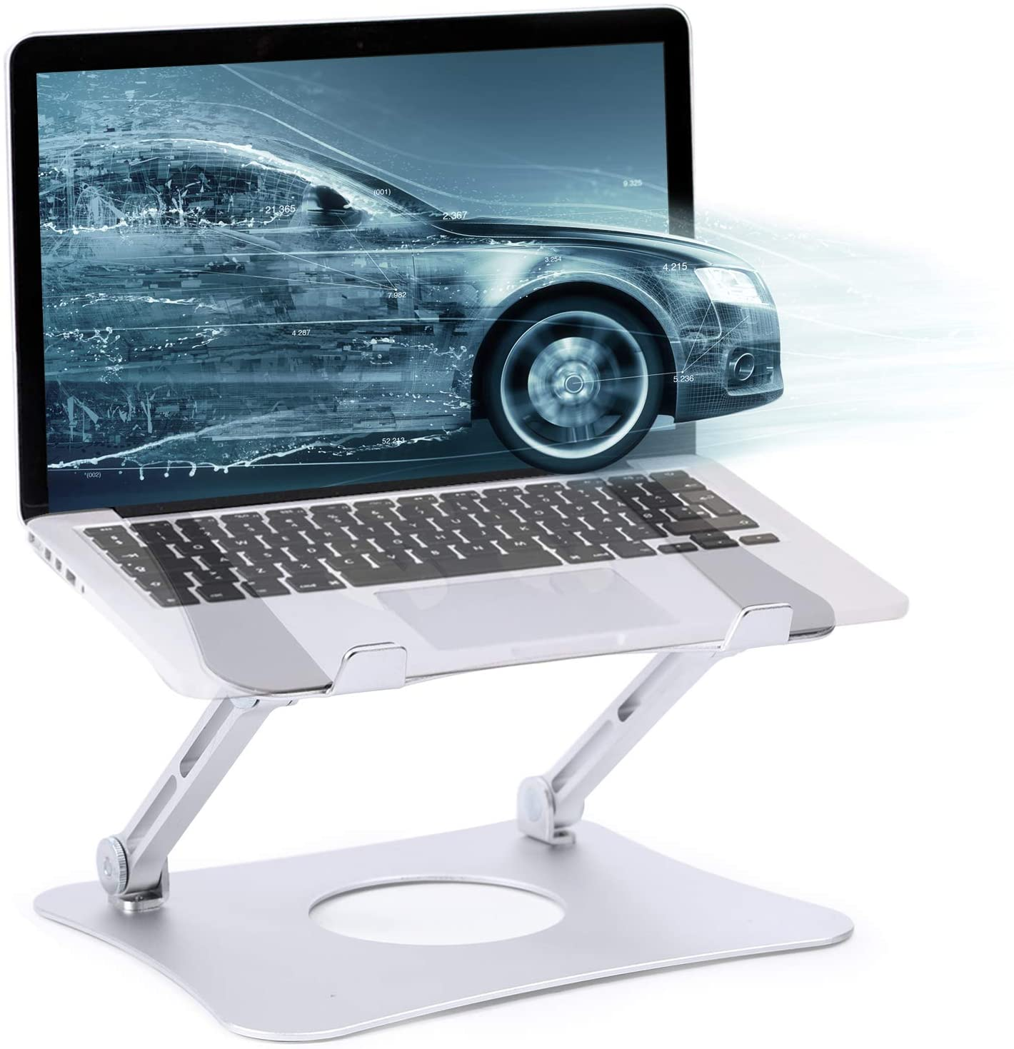 Adjustable Laptop Stand Ergonomic for Bed Computer Lifter for Laptop MacBook Stand for Desk Computer Holder for Desk MacBook Holder Stand Computer Holder for Laptop for Bed for Laptop 10-15.6 inch