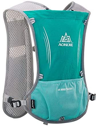 AONIJIE 5L Hydration Vest, Trail Marathon Running Cycling Race Hydration Backpack Pack for Men Women - Breathable, Lightweight, Adjustable