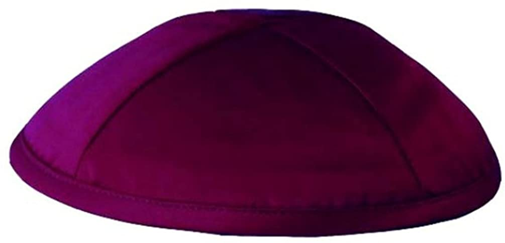 A1 Skullcap Deluxe Satin Fabric Kippot Single or Bulk Kippah Optional Custom Imprinting Inside for Your Speacial Event …