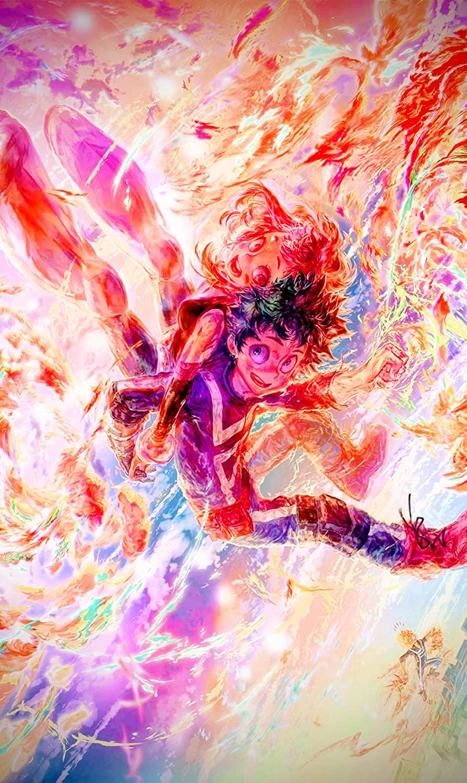 My Hero Academia Anime Art Prints Digital Illustration Anime Picture Poster Canvas Art Prints,50 x 70 cm,No Frame