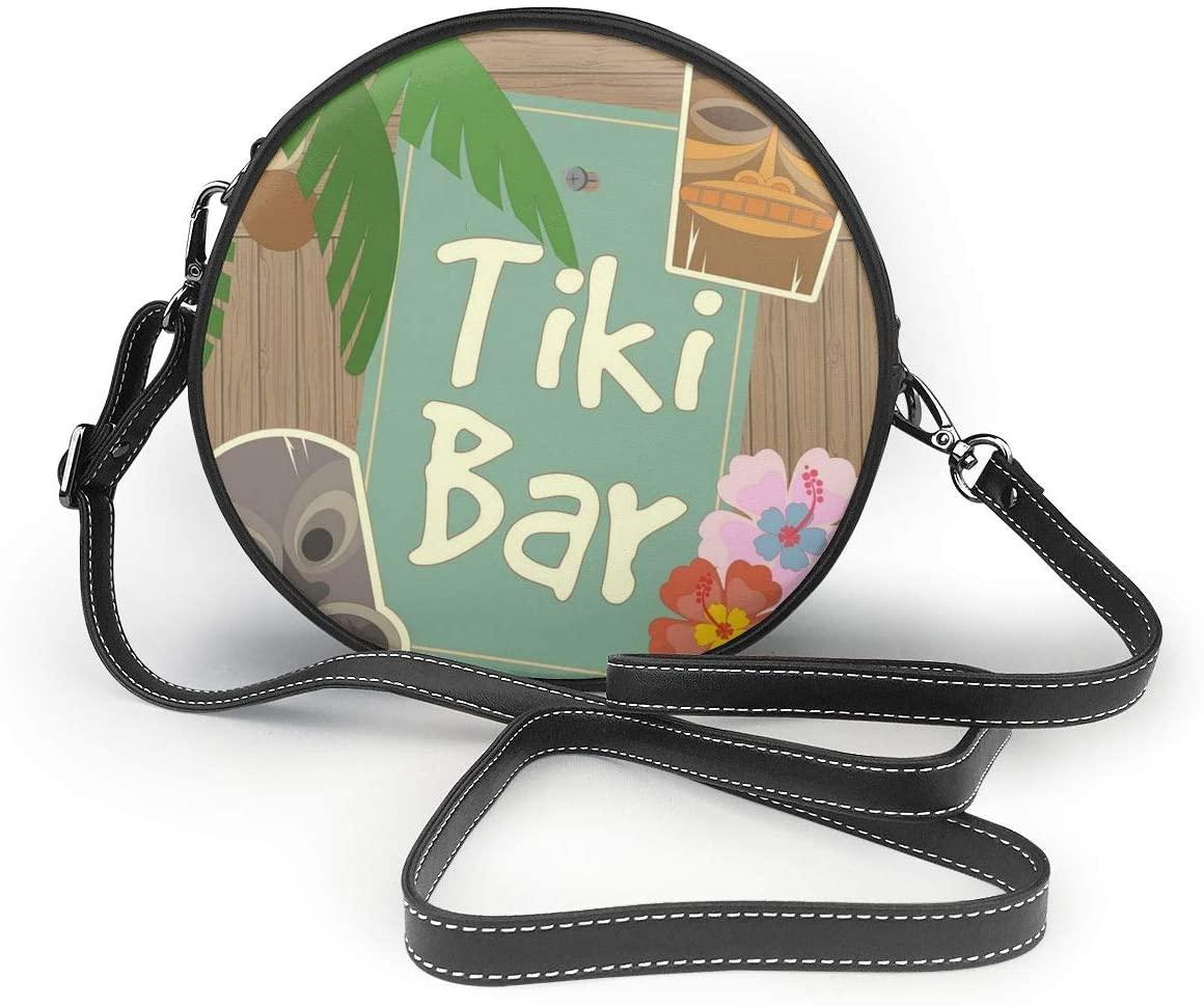 YongColer Lightweight Medium Crossbody Purse Bags for Women Travel Shoulder Bag - Summer Tiki Bar