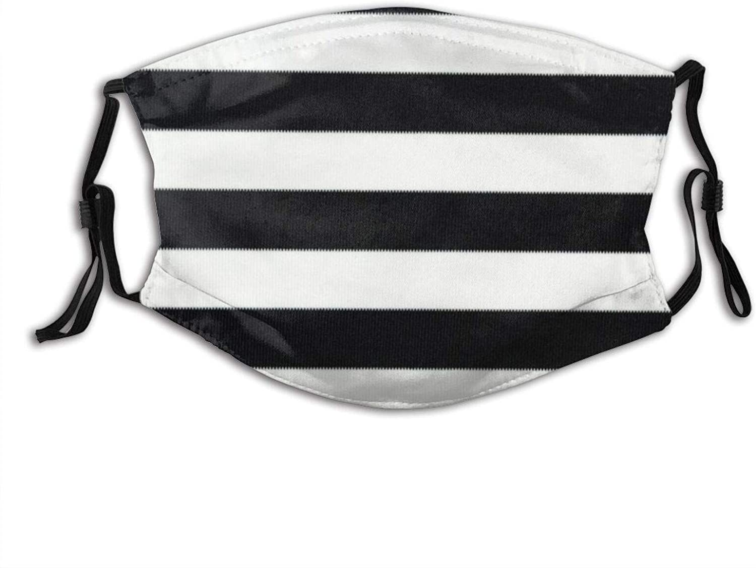 Fillter Cloth For Black Reusable Windproof Cloth Half Face Double Protection