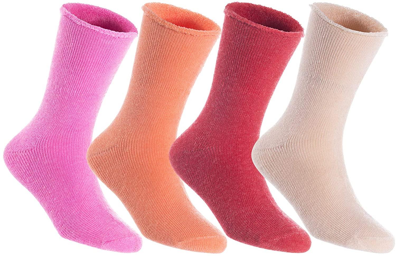 Lovely Annie High Performance Breathable Men's Wool Crew Socks LK0602 Size 6-9