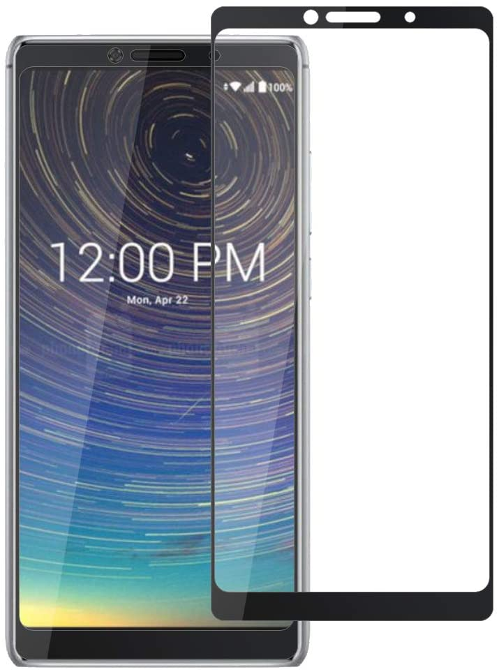 Zeking [2-Pack]Coolpad Legacy 3705A Screen Protector, Full Coverage Tempered Glass Drop Deference [3D Touch][Case Friendly] Bubble Free