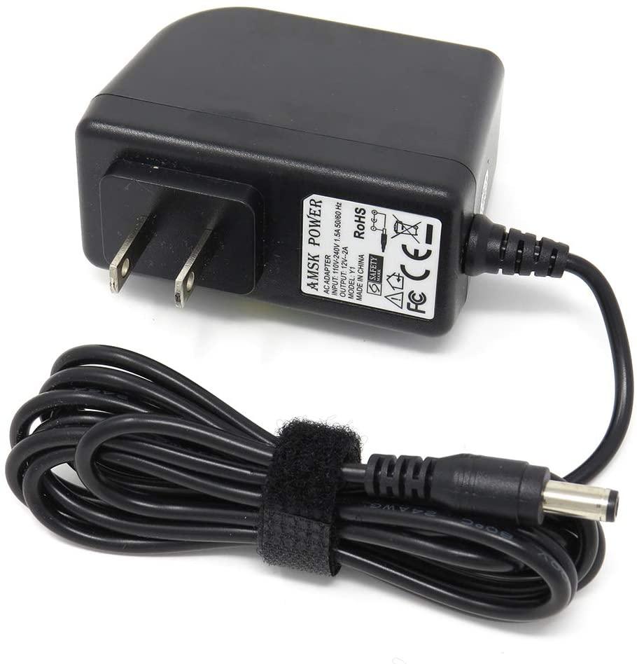 AMSK POWER AC Adapter for Seagate Seagate WA-18G12U 9NK2AL-510 9NK2AE-500 ST3200823A-RK Wallwart Fixed Us Plug Power Supply Cord