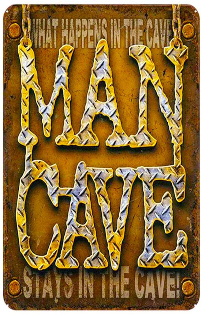 MAIYUAN Metal Vintage Tin Sign Decor- Man cave Sign Family Decor Sign,12 X8inches(ZY1031)