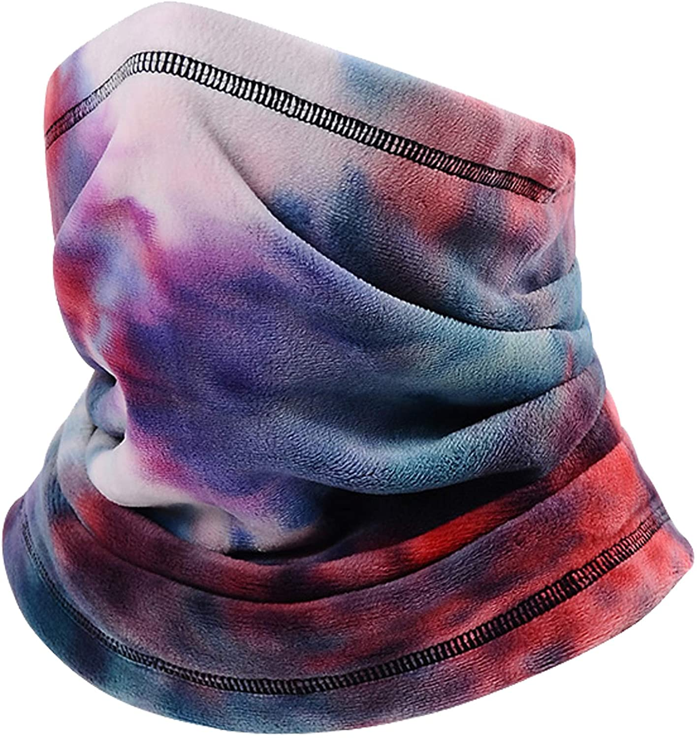 LANVO Fleece Neck Gaiter Warmer Face Mask, Adjustable Winter Neck Warmer Scarf for Men & Wowen for Skiing, Hiking, Running, Snowboard and Outdoor Sports Face Mask