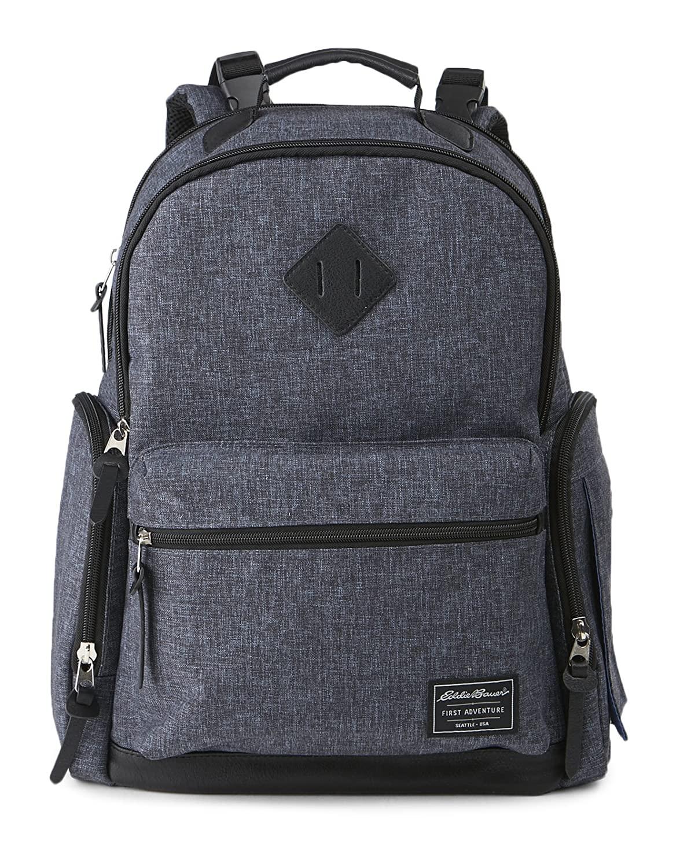 Eddie Bauer Places & Spaces Bridgeport Diaper Bag Backpack,