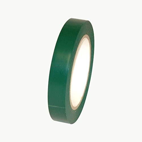 JVCC V-36P Premium Colored Vinyl Tape: 3/4 in. x 36 yds. (Dark Emerald Green)