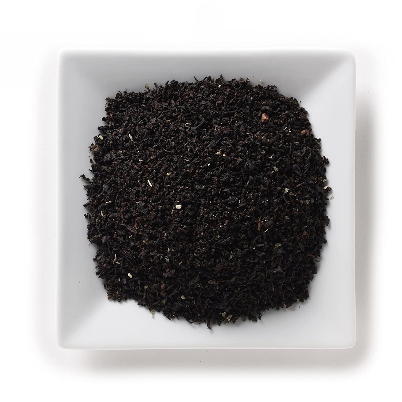 Mahamosa Huckleberry Decaf Tea 8 oz- Flavored Decaffeinated Black Tea Blend (with loose leaf decaf black tea and blackberry leaf with huckleberry flavor)