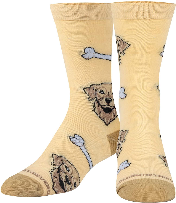 Crazy Socks, Womens, Animals, Dogs & Cats & Unicorns, Crew Socks, Novelty Cute