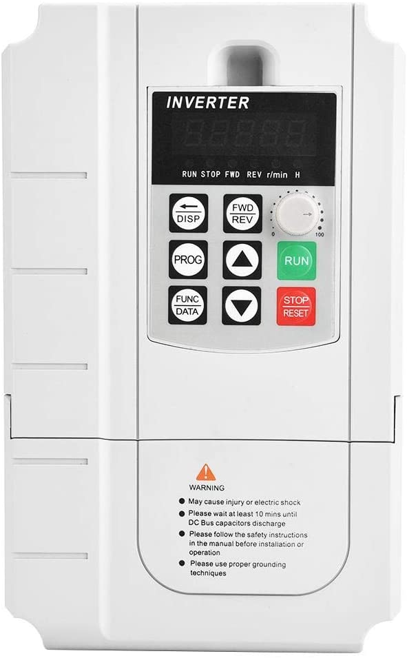 Variable Frequency Driver, 220V 5.5KW Single Phase Input and 3 Phase Output Inverter Variable Frequency Driver