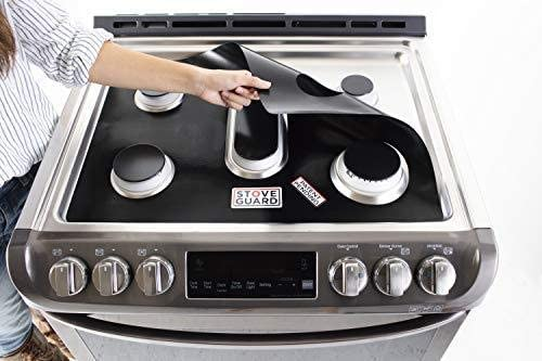 LG Stove Protectors - Stove Top Protector for LG Gas Ranges - Ultra Thin, Easy Clean Stove Liner