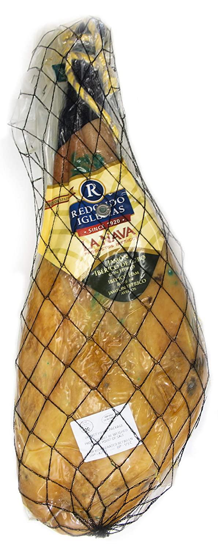 Jamon Ibérico - La Nava - Bone-In 18 Lb - 28 months aged - Dry cured Ham - Spain Gourmet Delicatessen - 1 unit
