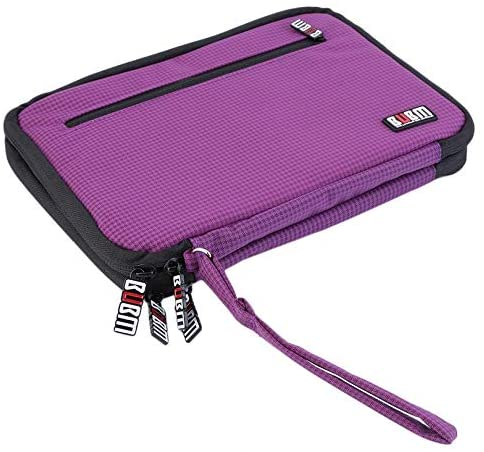 Wrist Strap Zippered Earphone USB Travel Pouch Tablet PC Storage Bag Case