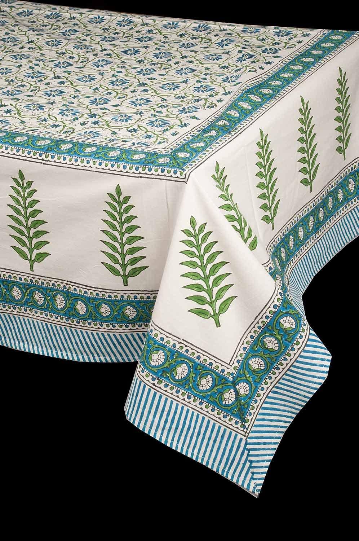 The Silk Cocoon Hand Block Printed Organic Cotton 72