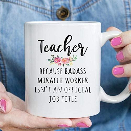 Funny coffee mug - Gift For Teacher, Funny Teacher Appreciation Coffee Mug