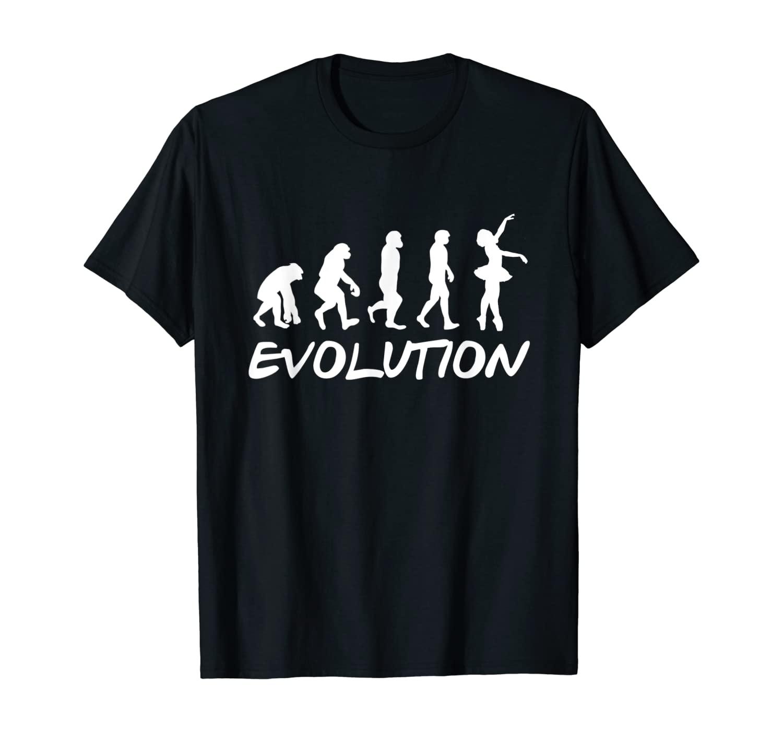 Funny Ballet Girl Ballet Evolution Ballet Dancing T-Shirt