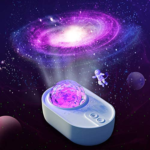 Verdelife LED Light Projector, Spaceship Projection Lights, Colorful Stage Lights, for Home Decoration Party Birthday Gifts