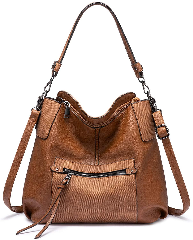 Realer Hobo Purses and Handbags for Women, Shoulder Bag Large Crossbody Bags with Tassel