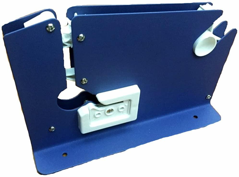 MXBAOHENG Bag Sealing Tape Dispenser Manual Plastic Bag Mouth Tying Machine Adhesive Tape Tying Machine Plastic Bag Sealer for Supermarket Plastic