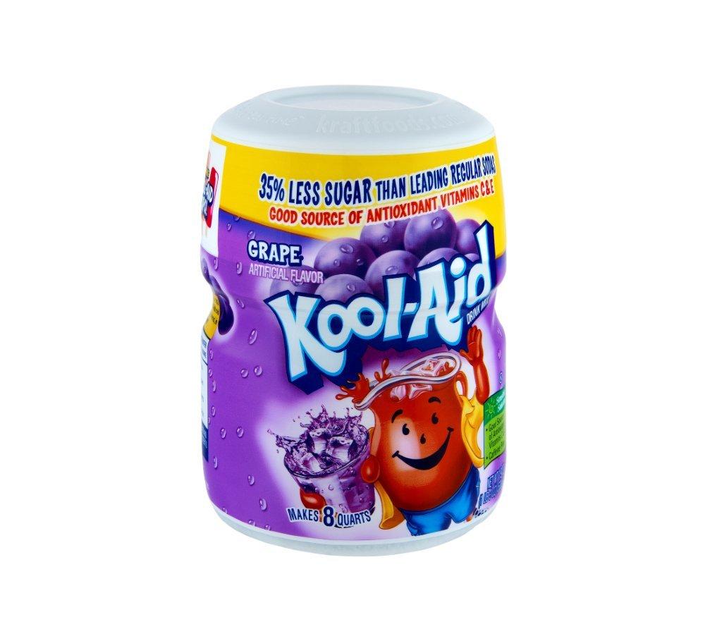 3 Kool-Aid Grape Soft Drink Mix 19 oz, 3 Pack