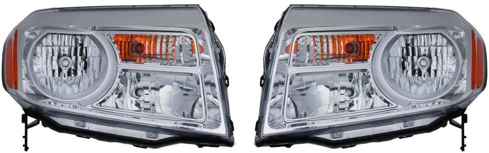 For Honda Pilot Headlight Assembly 2012 13 14 2015 Pair Driver and Passenger Side For HO2502147 | 33150-SZA-A11